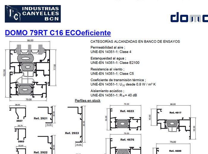 DOMO 79RT C16 ECOeficiente